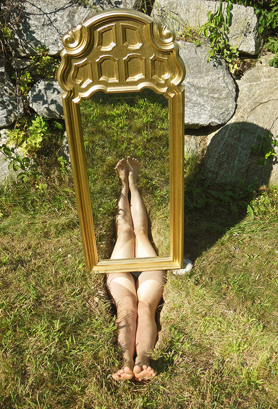 Remembering Ana Mendieta Series, Star & Snake Artist Residency 2014, Emily Rose Michaud