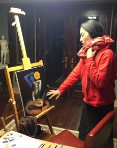 Meesha Goldberg, Fall 2016 Artist Residency
