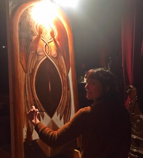 K Lenore Siner, Fall 2015 Artist Residency